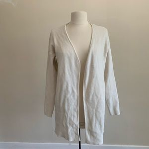 White/cream vero moda longer length cardigan Size
